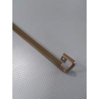 Стикова планка для стільниці EGGER пряма колір RAL8014